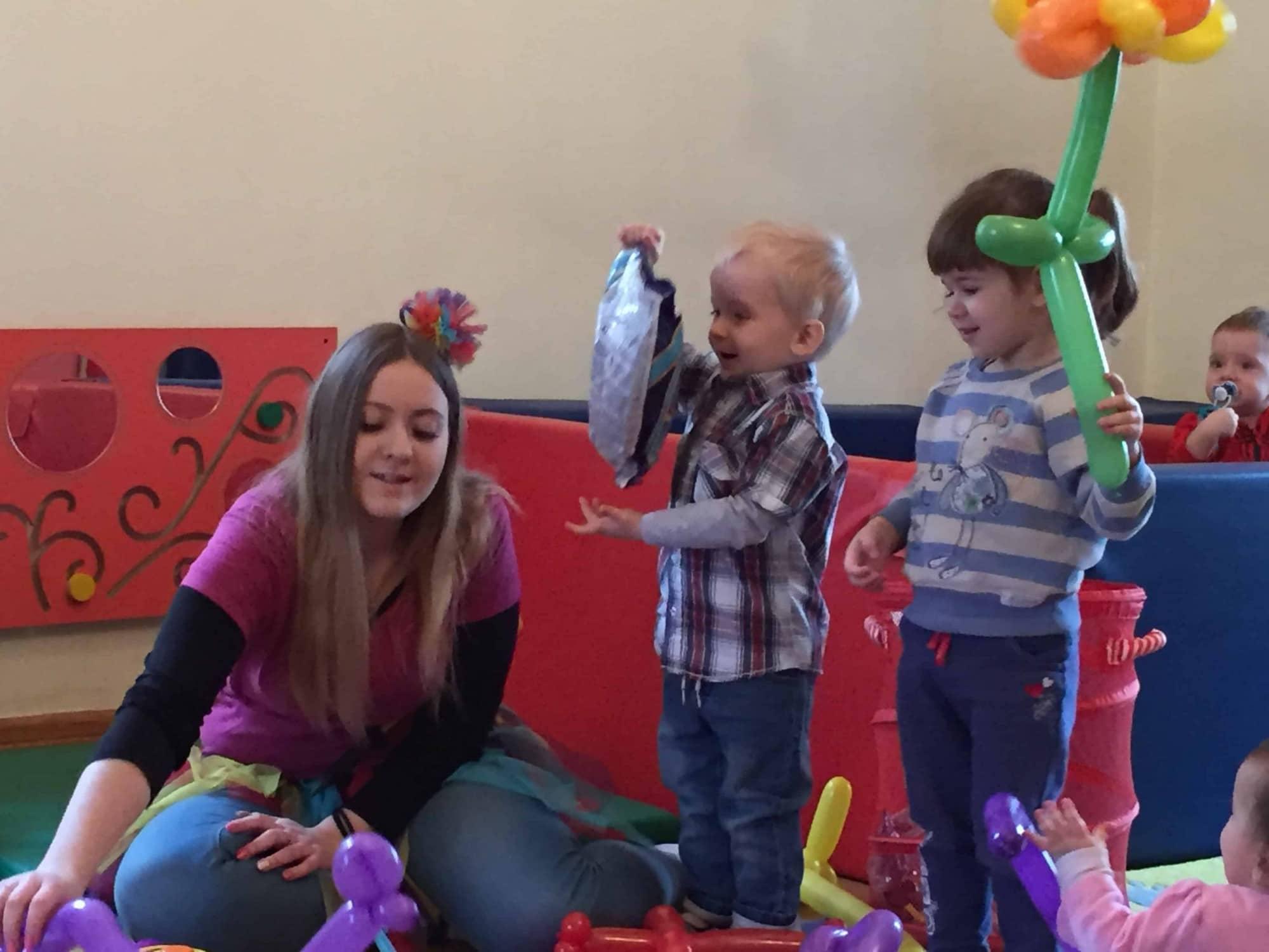 skręcanie baloników